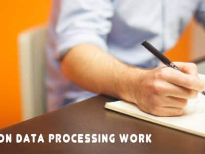 How to do Data Processing Work?