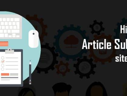 High PR free article submission sites list 2016