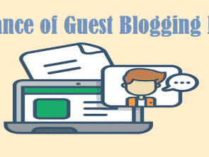 Importance of Guest Blogging For SEO